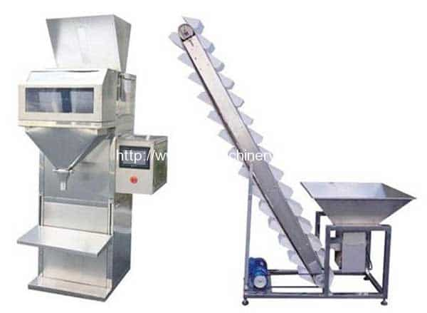 Semi-automatic-coffee-beans-dosing-packing-machine