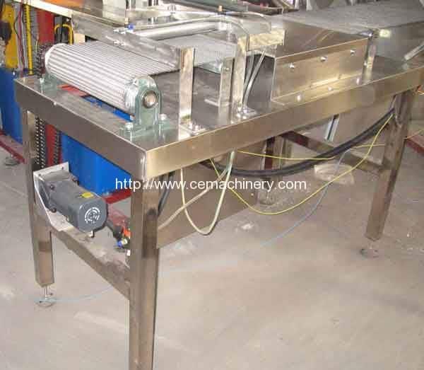 Tablet-linkage-conveyor-for-Cube-Sugar-Making-Machine