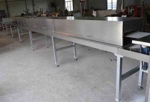 infrared-drying-oven-for-cube-sugar-production-line
