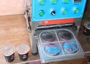Roll Film Type Manual Kcups Sealing Machine