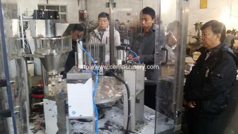 Nesresso-Capsules-Filling-Sealing-Machine-for-Singapore-Customer