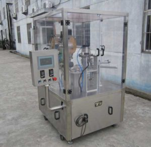 Integrated Kcups Rotary Type Filling Sealing Machine for USA Market