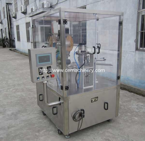 Nespresso Coffee Capsules Filling Sealing Machine for Pakistan Customer
