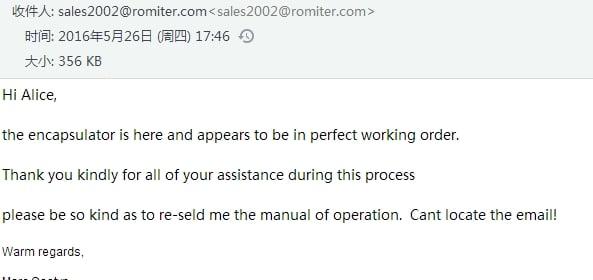 africa-customer-give-good-feedback-for-sealing-machine