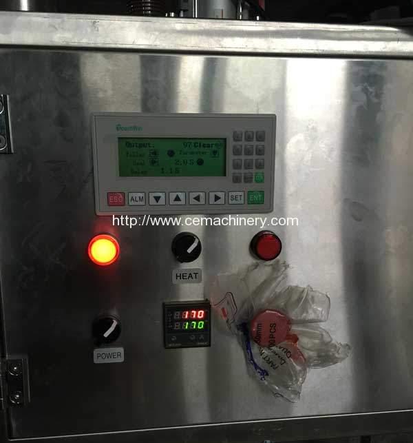 semi-automatic-lavazza-a-modo-mio-filling-sealing-machine-control-panel