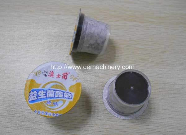 Similar Kcups Coffee Capsules Filling Sealing Machine for USA Market