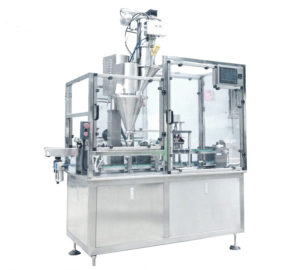 High Speed HRML-1 Coffee Capsules Filling Sealing Machine