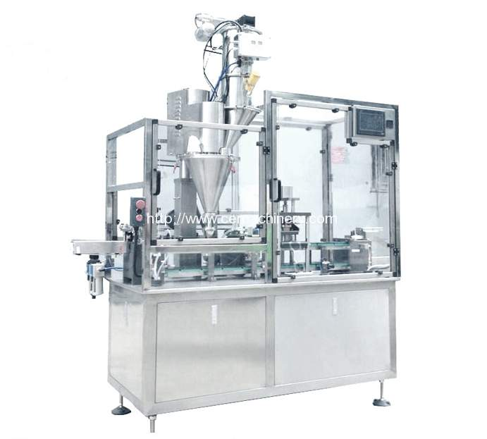 HRMY-High Speed Coffee Capsules Filling Sealing Machine
