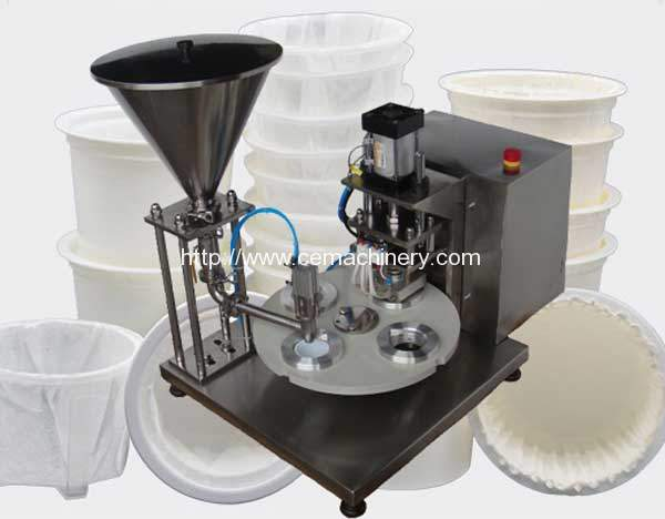Semi-Automatic Kcups Filling Sealing Machine for USA Customer