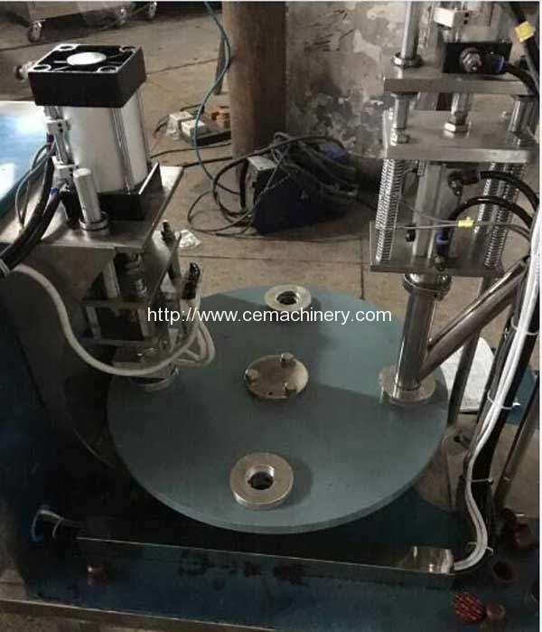 Semi-Automatic-Nespresso-Coffeee-Capsules-Filling-Sealing-Machine-for-Kuwait