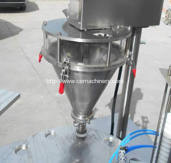 High-Speed-Kcup-Coffee-Capsules-Filling-Sealing-Machine-Coffee-Powder-Feeding-Device