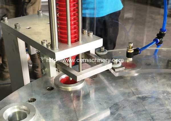 High-Speed-Rotary-Nespresso-Capsules-Filling-Sealing-Machine-Cup-Falling-Device