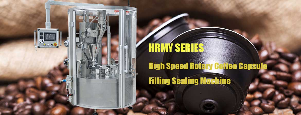Nespresso Capsules Filling Sealing Machine, K-Cups Filling