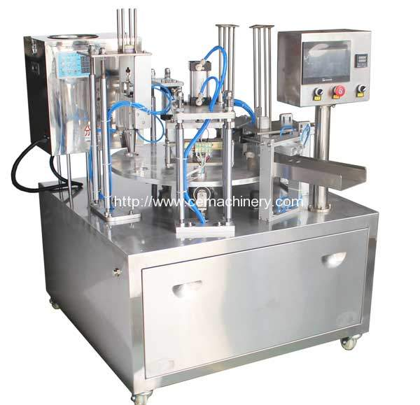 Economic Type Full Automatic Coffee Capsules Filling Sealing Machine