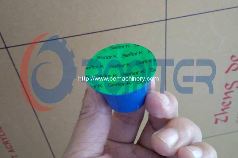 4 Lane Nespresso Capsules Filling Sealing Machine for Peru Customer