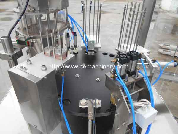New-Design-RMY-1-Nespresso-Capsules-Filling-Sealing-Machine-for-Argentina-Customer-with-Anodize