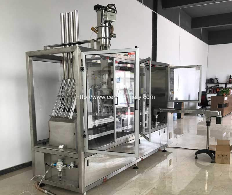Four-Lane-High-Speed-Kcups-Coffee-Capsules-Filling-Sealing-Machine-for-USA-Customer