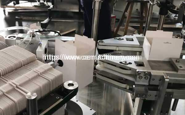 Automatic-Carbon-Box-Folding-and-Feeding-Machine