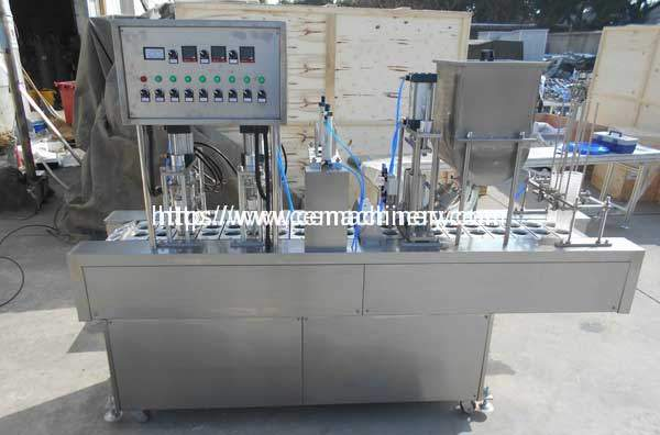 Automatic-Syrup-Liquid-Cup-Filling-Sealing-Machine-for-Georgia-Customer