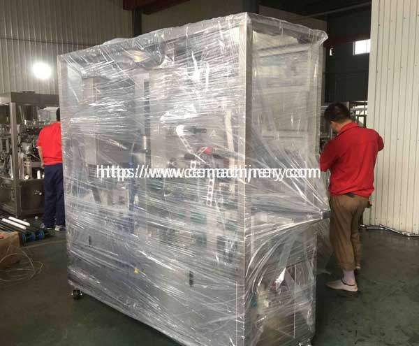Lavazza-Espresso-Point-Capsules-Filling-Sealing-Machine-Delivery-to-Italy-Customer