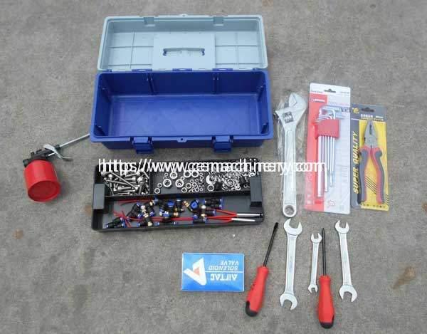 Liquid-Cup-Filing-Sealing-Machine-Adjust-Tool-Box