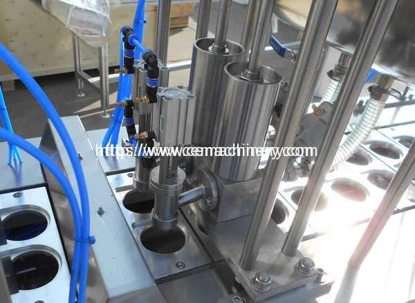 Liquid-Cup-Filing-Sealing-Machine-Filling-Device