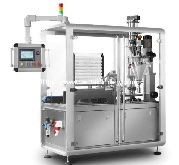 RM-HRMY-1T-High-Speed-Rotary-Motion-Coffee-Capsule-Filling-Sealing-Packing-Machine