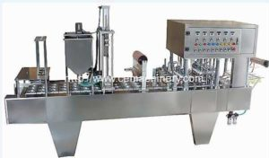 Linear Type Communion Cup Filling Sealing Machine