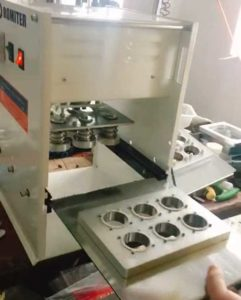 Manual Type Coffee Capsules Sealing Machine with Extra Mould