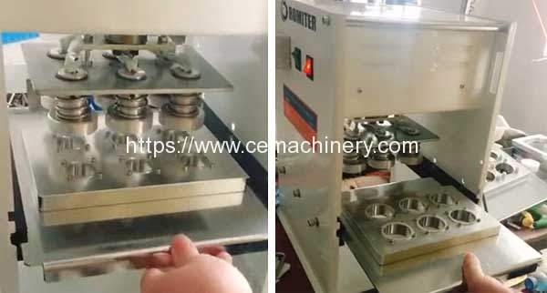 Manual-Type-Coffee-Capsules-Sealing-Machine-with-Extra-Mould-for-Honduras-Customer