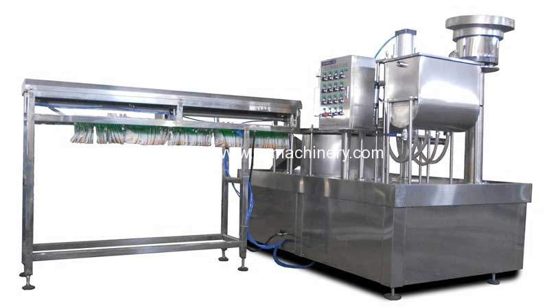 Automatic-Doybag-with-Nozzle-Liquid-Filling-Capping-Machine