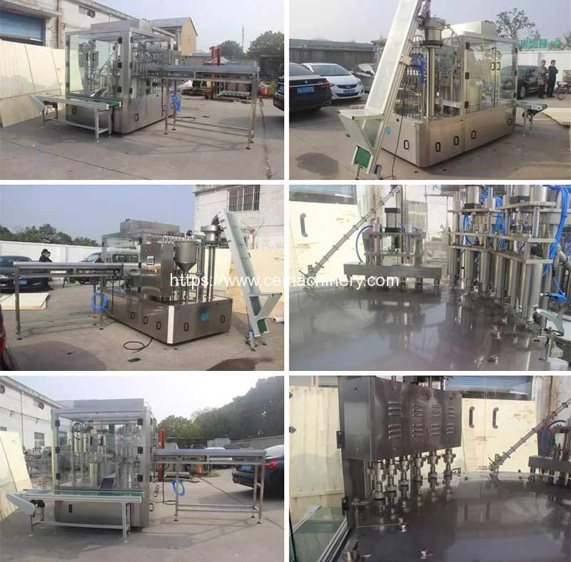 Full-Automatic-Doybag-Nozzle-Bag-Paste-Filling-Capping-Machine