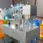 Automatic Stand Up Pouch Liquid Filling Capping Machine