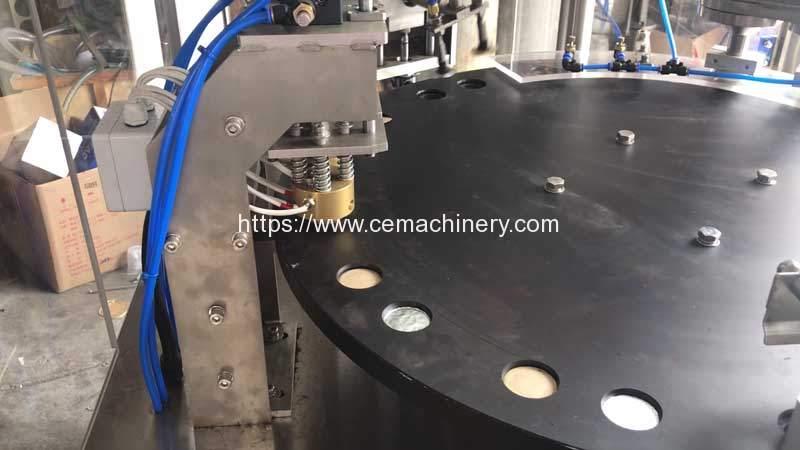 Rotary-Type-Nespresso-Capsules-Filling-Sealing-Machine-Sealing-Head