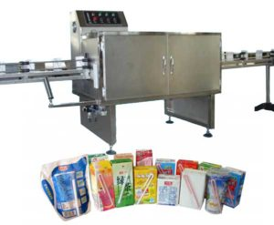 Automatic Drinking Straw Applicator Packing Machine