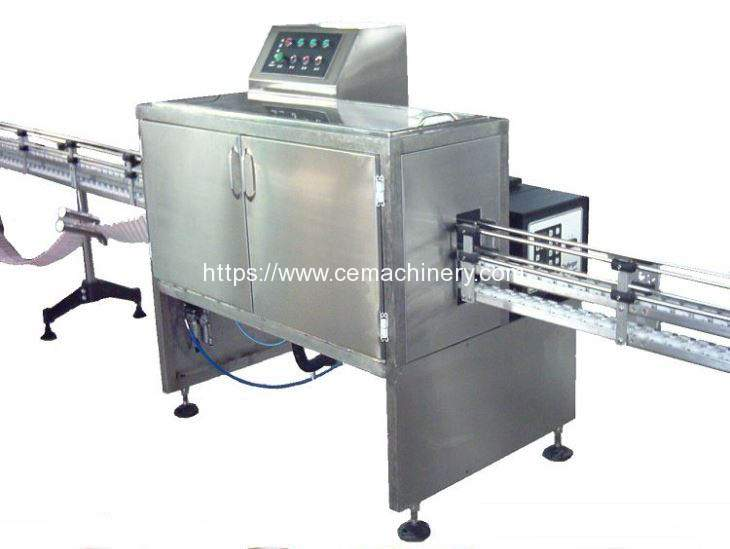 Automatic Drinking Straw Applicator for Stand Up Package