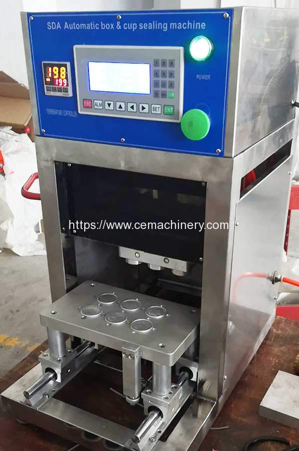 Semi-Automatic-Pneumatic-6Cup-Aluminum-Cup-Sealing-Machine-for-Thailand-Customer