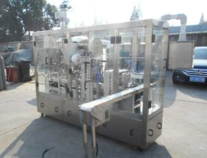 HRML-2 Nespresso Capsules Filling Sealing Machine for United Kingdom Customer