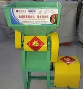 Automatic Fresh Coffee Bean Peeling Machine