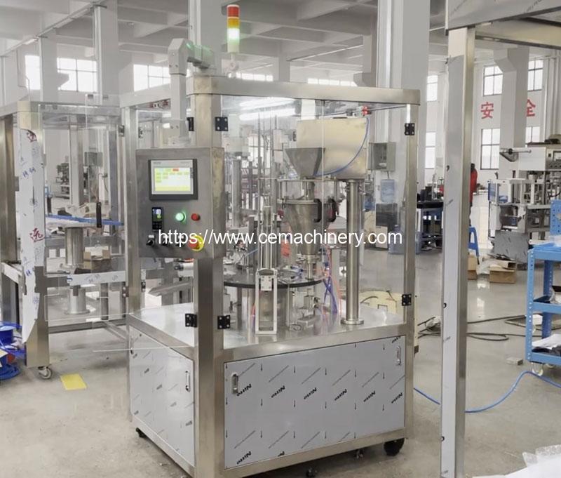 2021-Aluminum-Nespresso-Capsules-Powder-Filling-and-Lid-Sealing-Machine