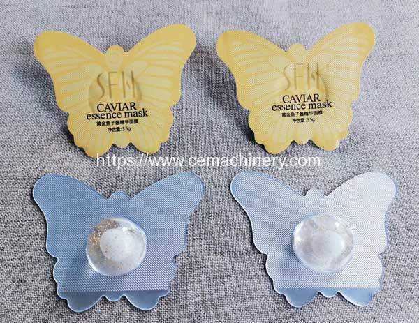 Thermoforming-Container-Facial-Mask-Liquid-Filling-Sealing-Machine