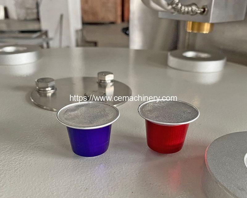 Aluminum-Nespresso-Capsules-Filling-Sealing-Machine-Result