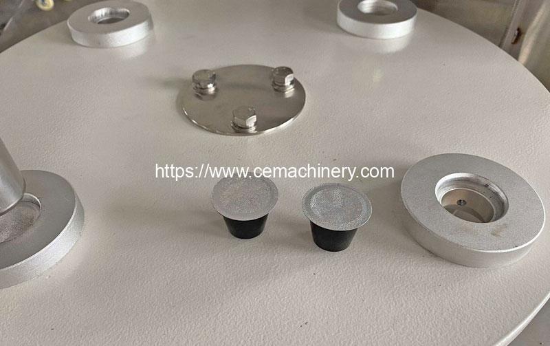 Plastic-Nespresso-Capsules-Filling-Sealing-Machine-Result
